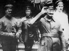 Leon Trotsky at the Polish Front 1919 7x5 Inch Reprint Photo