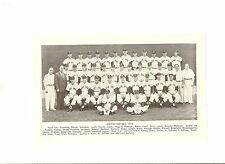 Red Sox 1958 Team Picture Ted Williams Jim Piersall Dave Boo Ferriss Tom Brewer