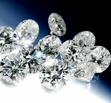 ROUND SHAPED 2.00 TCW GH/ SI NATURAL LOOSE DIAMOND 100 PC LOT 0.02 CT EACH 51