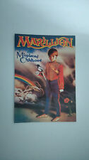 Marillion misplaced childhood vintage music postcard CARD