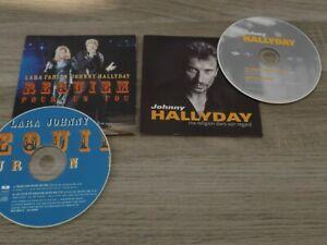 JOHNNY HALLYDAY LOT 2CD MA RELIGION DANS SON REGARD + REQUIEM POUR UN FOU live98