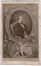 Echtes Original 1860s CDV Comte de Chambord,  Heinrich V. König von Frankreich