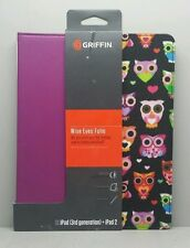 Griffin Wise Eyes Folio Purple Case for iPad 2 iPad 3 ipad cover GB36164