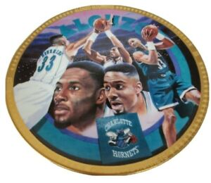 Vintage 1993 Alonzo Mourning Collector's Edition Plate 2311 of 7500 NBA License