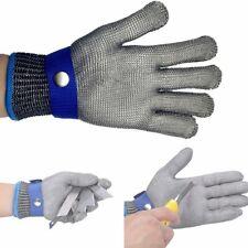 L-Size Stechschutzhandschuhe Kettenhandschuh Sicherheits-Handschuh Metzger【DE】