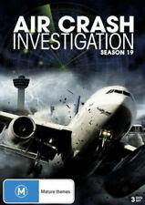 Air Crash Investigations : Complete Season 19 (DVD) UK Compatible - sealed