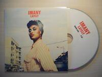 IMANY : LATELY (radio edit) *RARE FRENCH PROMO* [ CD SINGLE ]