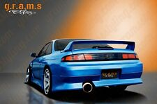 Nissan 200sx S14 S14a Vertex Style Rear Bumper for Body Kit, Racing v6
