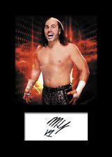 MATT HARDY #4 (WWE) Signed Photo A5 Mounted Print - FREE DELIVERY