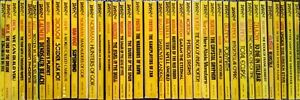 Daw Book Lot of 40 Vintage Yellow Spine