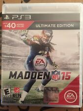 Brand New!!! Madden NFL 15 Ultimate Edition (Sony PS3, 2014) Factor Sealed!!!