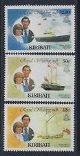 Kiribati, Scott #374-376, Prince Charles and Lady Diana, MNH