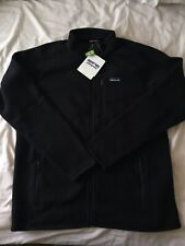 BNWT Men's Patagonia Better Sweater Fleece Jacket Retro In Black XL X-LARGE