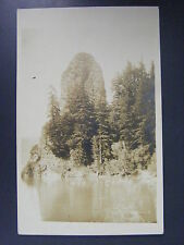 Rooster Rock Oregon OR B&W Real Photo Postcard RPPC c1910 Antique Vintage
