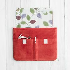 Red Velvet Protective Padded Fitted Case Pouch Sleeve Bag iPad 10.2 inch 7th gen