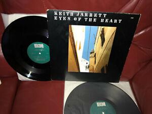 KEITH JARRETT Eyes Of The Heart 2 x LP US 1979 ECM-T-1150 3-sided gatefold jazz