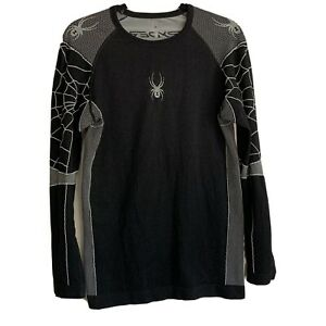 Spyder Base Layer Thermal Top Long Sleeve Crew Neck L/XL