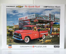 Eurographics Puzzle 1000 Pieces Chevrolet The Apache Truck Red American Classics
