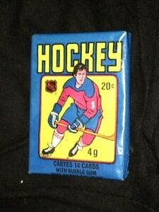 RARE! ORIG. 1979-80 O-PEE-CHEE WAX PACK!  GRETZKY ROOKIE YEAR!