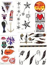 10pcs Temporary Tattoos Fashion Design Removable Waterproof GD G-DRAGON tattoo