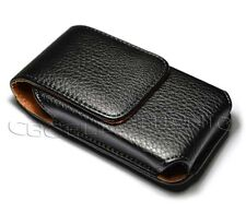 New Black belt clip on leather case holster for iphone 3g 3gs 4g 4S