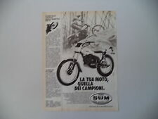 advertising Pubblicità 1981 MOTO SWM 320 TRIAL