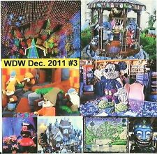 Walt Disneyworld Dec. 2011 Christmas DVD #3 Gingerbread House, Leggoland, Lights