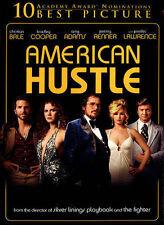 American Hustle DVD Digital UV Included Free Bradley Cooper Christian Bale NEW