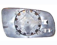 VETRO + PIASTRA SPECCHIO RETROVISORE.SINISTRO AUDI A3 A4 A6 A8 GOLF IV PASSAT