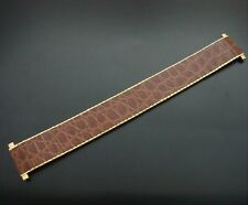 BEAUTIFUL Adjustable Men's 18mm to 22mm Metal/Leather Watch Strap/Band