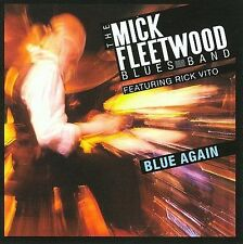 BLUE AGAIN CD MICK FLEETWOOD BLUES BAND, RICK VITO BRAND NEW SEALED