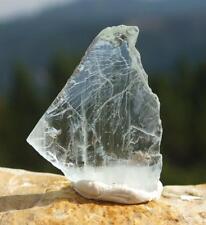 Blue Aquamarine Crystal Raw Uncut Gemstone Facet Rough Mineral Unheated 2.8g