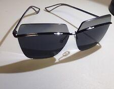 8a25dde5c221 Christian Dior METALLIC SSP KW silver   silver grey mirror Women Sunglasses  Auth