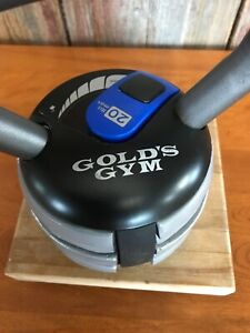 Gold Gym 20 lb. adjustable kettle bell Ships Free