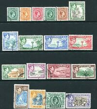 JAMAICA-1938-52 Set to £1 Sg 121-133a FINE USED V28736