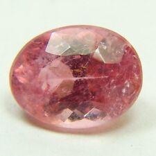Natural pink tourmaline, 2.20ct 7x9x5mm, hot pink, oval shape,   Brazil  M