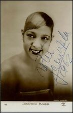 Josephine BAKER (Jazz): Signed Photograph