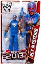 WWE REY MYSTERIO WRESTLING FIGURE BEST OF 2013 SERIES LUCHADOR BLUE ATTIRE #2