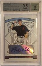 2009 Bowman Sterling Prospects #BB Bobby Borchering RC AUTO Beckett 9.5 / AU 10