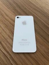 iPhone 4S (A1387) Backcover - Rückseite - Akkudeckel  - Original weiß NEU