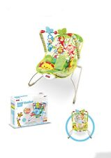 Baby Rocker Bouncer Chair Soothing  Vibration with Toys 0 Month+