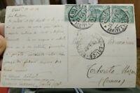 1924 267) CARTOLINA AUTOGRAFATA DAL GRANDE SCULTORE DI MOLFETTA GIULIO COZZOLI