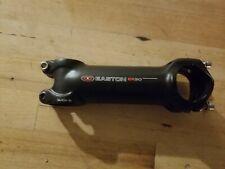 Easton EA90 115mm 0 Degree 31.8mm Black Alloy Road CX Gravel Bike Stem - New