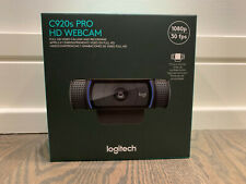 Logitech C920s Pro HD 1080p Webcam with Privacy Shutter IN HAND SHIPS TODAY