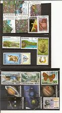 N°306 - lot de 20 timbres :11 Nicaragua et 9 Corée  oblitérés bon état