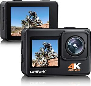 Campark X35 Action Camera 4K 24MP Wi-Fi Underwater Waterproof Camera 40M °