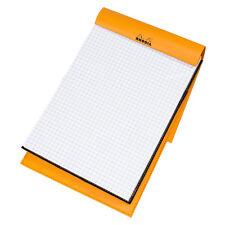 Rhodia A5 imitación de cuero 5mm 5/5 Rejilla Papel Bloc de Notas Almohadilla Cuaderno de matemáticas arquitecto