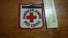 VINTAGE AMERICAN RED CROSS AMERICAN JUNIOR RED CROSS    PATCH BX 4 #3