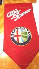 Bandiera stendardo flag originale Alfa Romeo vintage
