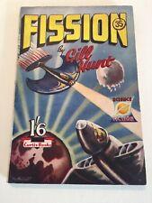 British Science Fiction Pulp Paperback. Fission. 1952
